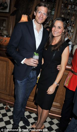 Romantic break: Pippa Middleton and her boyfriend Nico Jackson have embarked on a romantic Caribbean holiday in secret