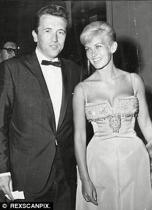 Sir David Frost with girlfriend Actress Janette Scott