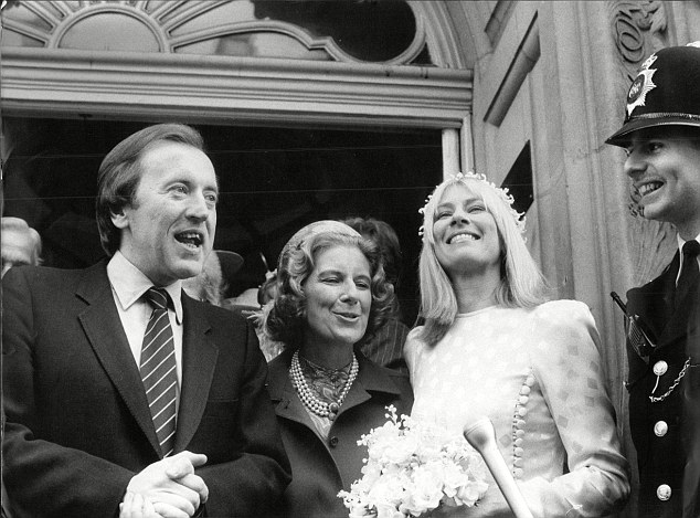 Sir David Frost on his wedding say to second wife Lady Carina Fitzalan-Howard