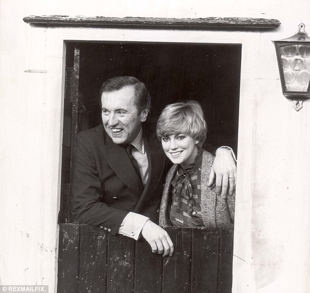 Sir David briefly married Peter Sellers' widow Lynne Frederick in 1981. He had a weakness for beautiful women