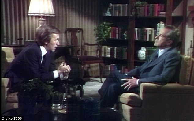 His interview with the doomed American President 'Tricky Dicky' Richard Nixon in 1977 was a TV classic.