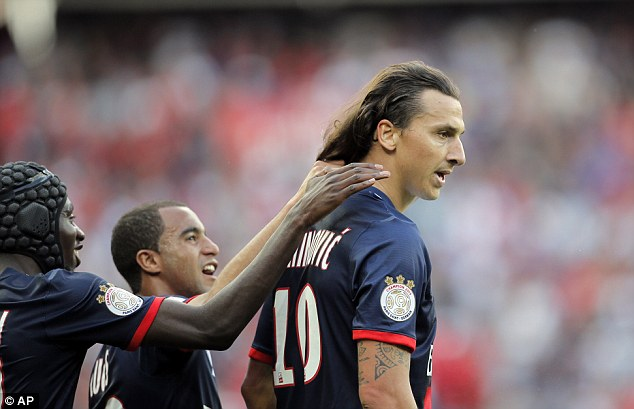 Exposed: Zlatan Ibrahimovic has said Arsene Wenger 'saw right through' him when he came to London
