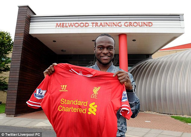 On loan: Victor Moses was one Chelsea attacker who did managed to get a move on deadline day