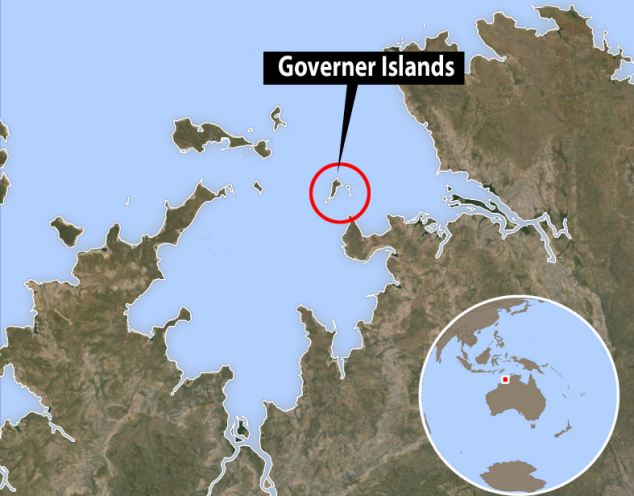 Trapped on the remote island in Western Australia, every time the tourist tried to leave, the crocodile 'made its presence felt, and so the fellow was left stranded there for an entire fortnight,' according to Mr McLeod