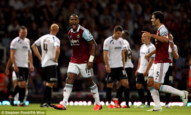 Get me out of here: Ricardo Vaz Te has expressed his desire to leave West Ham
