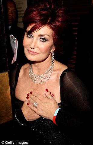 Sharon Osbourne, in  2007