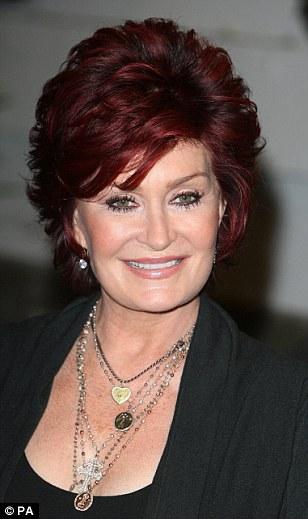 Sharon Osbourne arrives at the 2012