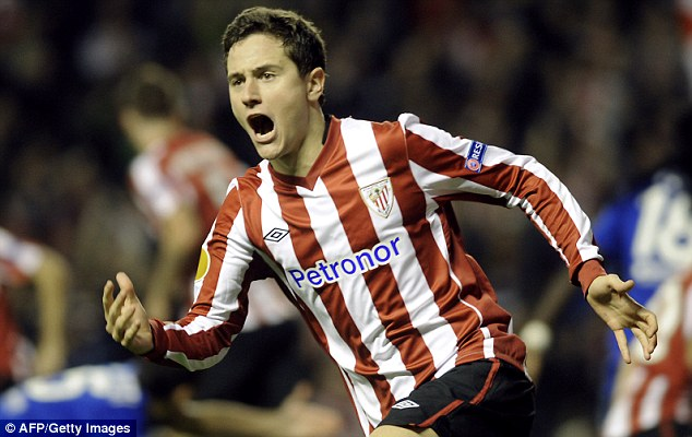 Farce: The deal for Ander Herrera fell through after imposters arrived in Spain to complete deal