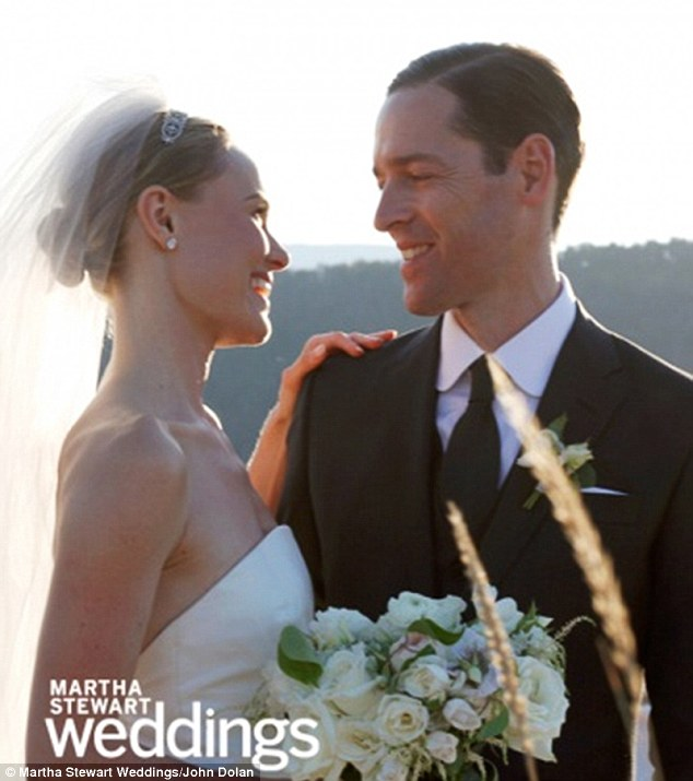 For better or worse: Kate Bosworth has revealed that her film director beau Michael Polish broke his foot just two weeks before their wedding day this August