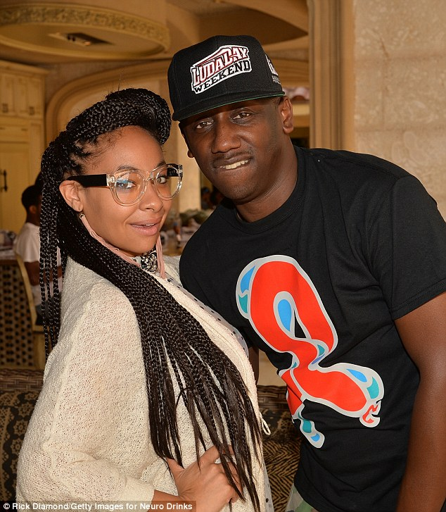 LudaDay love: The former Cosby Show cutie also posed alongside her manager and LudaDay co-founder Chaka Zulu