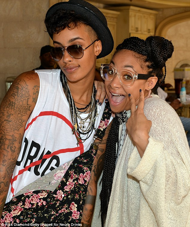 Two years strong! Raven-Symoné brought her live-in model girlfriend AzMarie Livingston to the LudaDay Weekend Celebrity Pool Party in Atlanta Monday