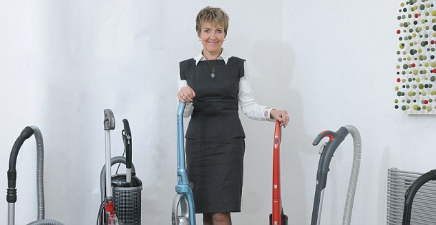 Fan: The work of Assured Products drew interest from TV's clean queen Aggie MacKenzie.