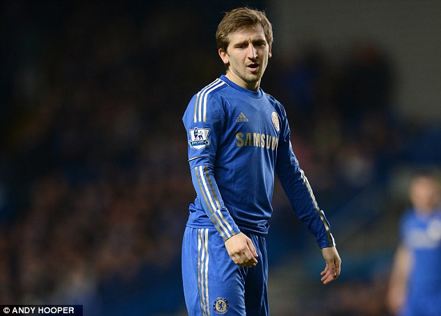 Disappointment: Marko Marin was shipped out of Chelsea after just one season
