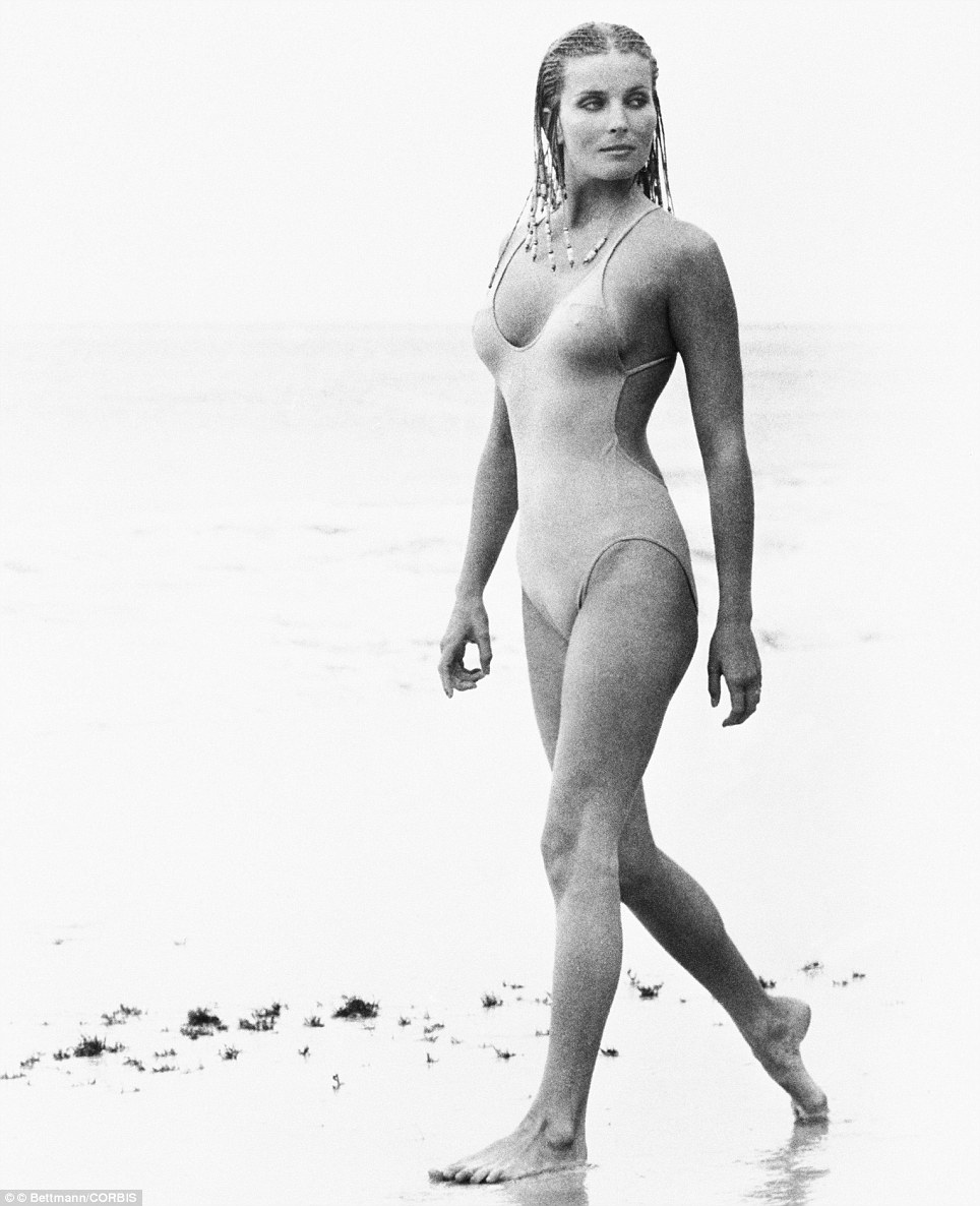 Bo Derek, with her hair in cornrows in her most famous role as Samantha Taylor in the 1979 movie 10