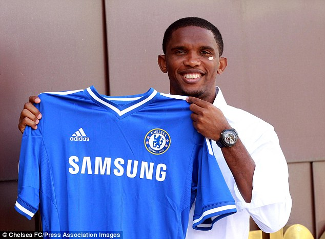 Match made in heaven? Samuel Eto'o has been reunited with his old boss Jose Mourinho