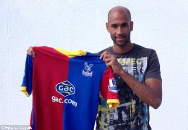 Back to the Premier League: Speedy winger Jimmy Kebe has made the move to Selhurst Park from Reading