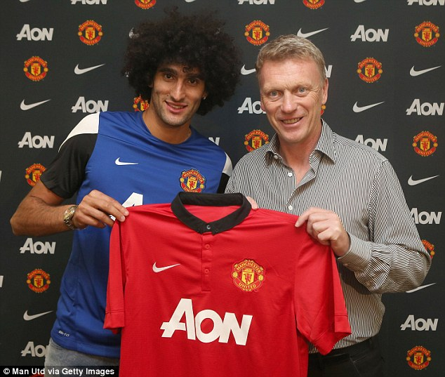 Got him! By the skin of his teeth, David Moyes managed to capture Marouane Fellaini for £27.5m