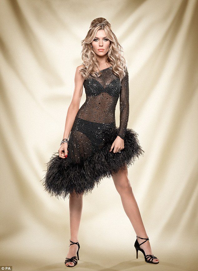 Ready to dance: Abbey Crouch is one of this year's celebrity contestants in BBC1's Strictly Come Dancing