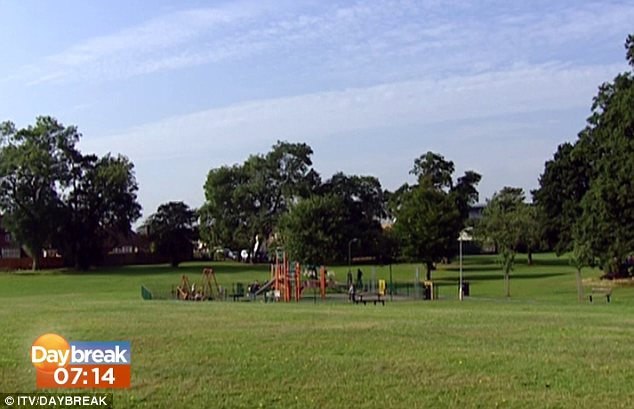 Playground: The area where the investigation was carried out was closed to the public