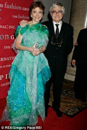 Architect Rafael Vinoly and his wife Diana