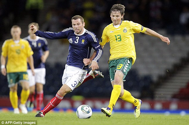 Scotsman: Phil Bardsley has 12 international caps for Scotland