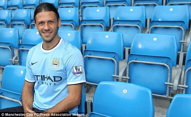 Injury trouble: Martin Demichelis will be out for up to six weeks
