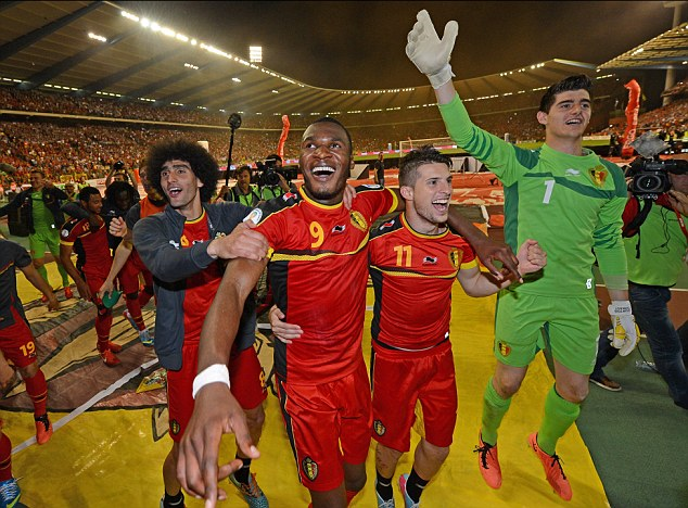 Destined for glory? Belgium now have a team of stars, many of whom play in the Premier League