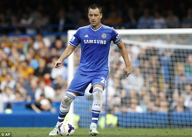 Club over country: Terry has started every Premier League game this season