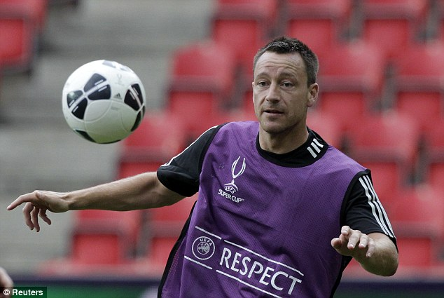 No chance: Cahill believes terry will not come out of retirement to play for England