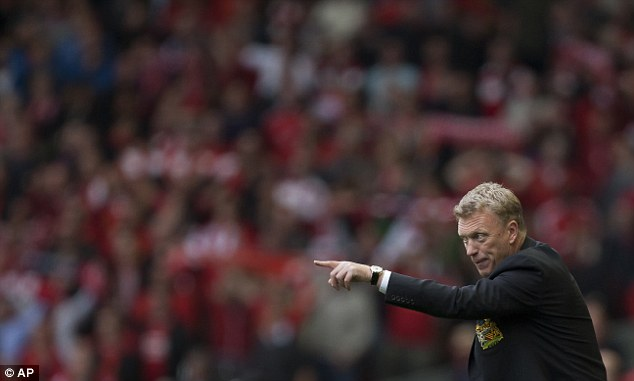 Chosen one: Moyes replaced Ferguson in June, and has had a tough start so far