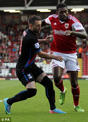Stephen Dobbie has not been included in Crystal Palace's 25-man squad