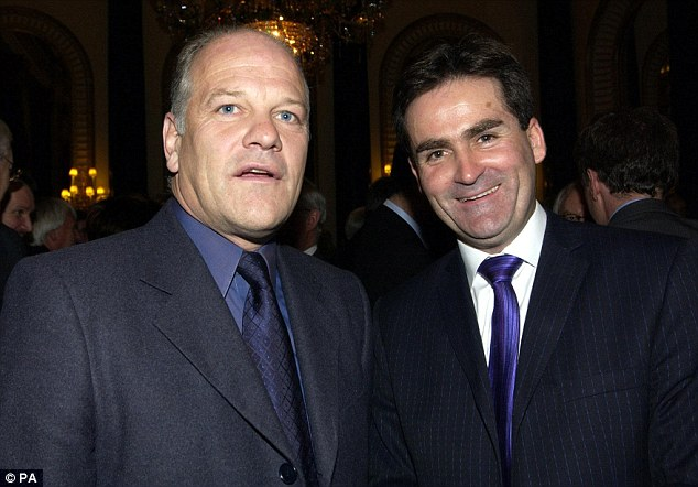 On the box:  Richard Keys and Andy Gray present Al Jazeera's English coverage of the Premier League