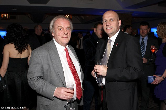 Change of plan: PFA chief Gordon Taylor was due to travel to Ukraine as an FA international committee member