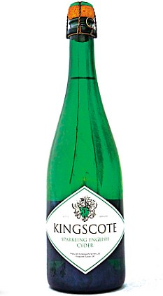 Kingscote Sparkling English Cyder is impeccably fresh and fruity