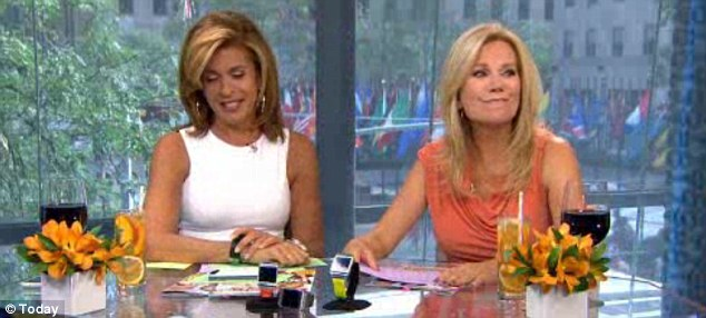 Oh Hoda! Kathie Lee despairs after he co-host manages to show her own cell phone number on live TV