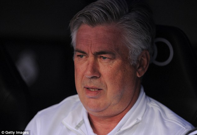 Bold move: Ancelotti's decision has the potential to cause unrest with Real players and fans alike