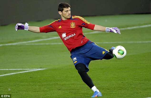 Switch: Casillas is reportedly being primed to play in Europe while sitting out of La Liga games