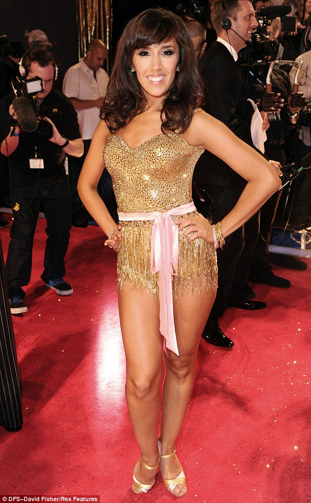 Professional dancer Janette Manrara at the launch night for the latest series of the show on Tuesday