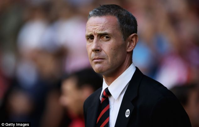 David Weir was given his first managerial role by Sheffield United this summer