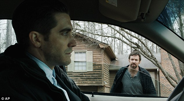 Gritty thriller: Hugh stars as a father driven to the brink when his daughter is kidnapped, while Jake plays the cop investigating the disappearance in the film that hits cinemas on September 20