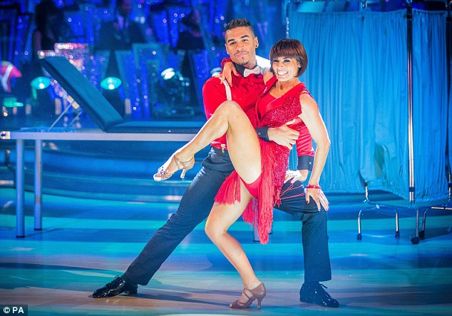 Last year's winners Louis Smith and Flavia Cacace performing on Strictly Come Dancing
