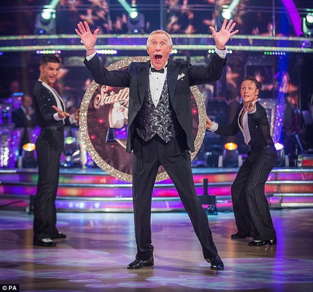 Co-host Sir Bruce Forsyth gets into the grove ahead of the new series