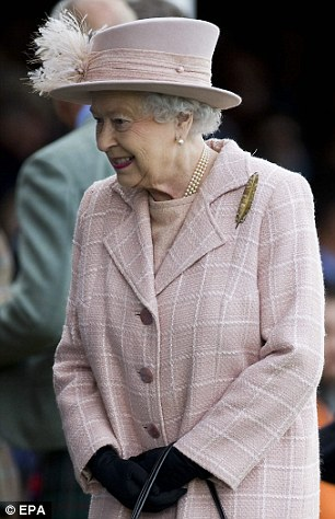 The Queen as the Patron of the games, held at Braemar on the first Saturday in September