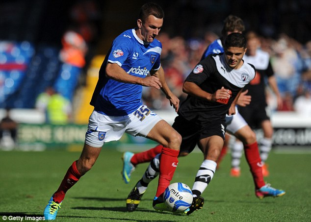Higher ranks: Brighton and Leicester are also thought to have an interest in Jed Wallace (left)