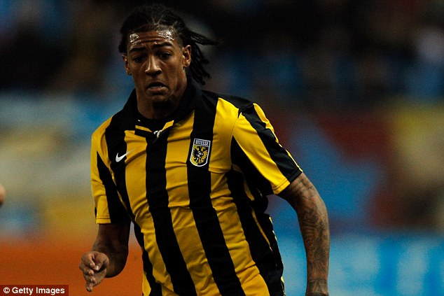 Back again: Patrick van Aanholt is one of the players who has already had a loan spell at the Eredivisie side