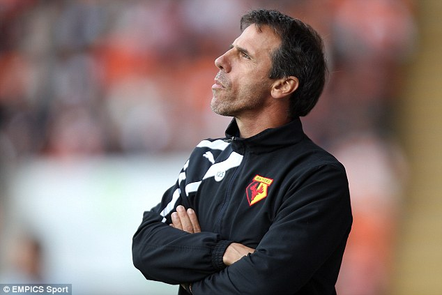Similar: Chelsea legend Gianfranco Zola was criticised for bringing in many loan players at Watford