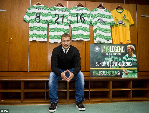 Big occasion: Petrov is due to play in the sell-out game at Celtic Park against
