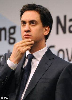 Speech: Labour leader Ed Miliband will accuse the Tories of 'congratulating' themselves on a recovery not being enjoyed by hard working ordinary people