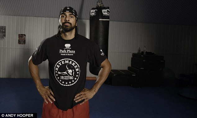 Tough opponent: Haye is among the most dangerous heavyweights in the world