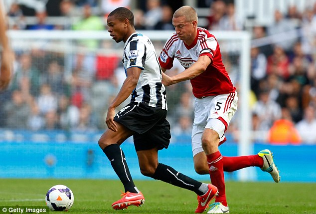 Plan B? Loic Remy instead arrived at St James' Park, and was the club's only signing of the transfer window